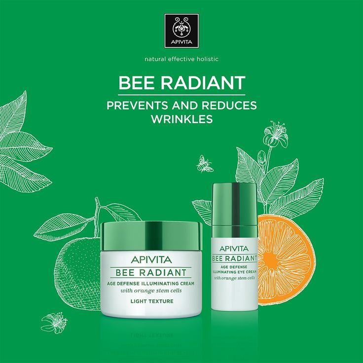 Say hello to your most #healthy #youthful #glowing face! The new #BeeRadiant #skincare line with orange cells makes effective #antiaging a reality! #BeeRadiant #natural #skincare #  Read more at www.apivita.com