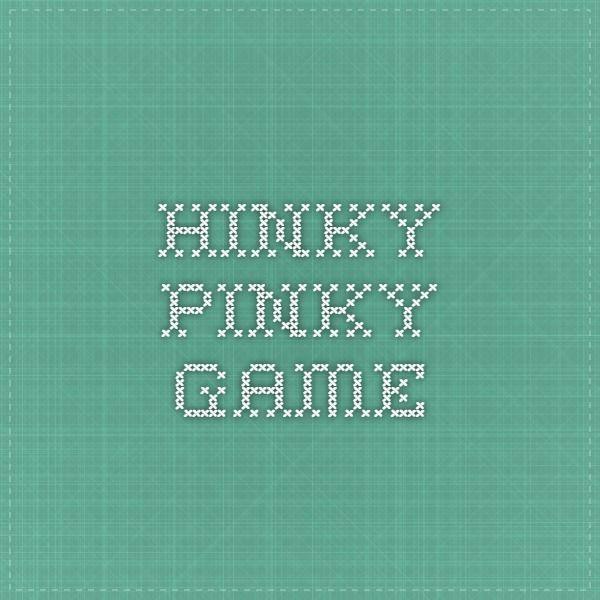 Hinky Pinky game