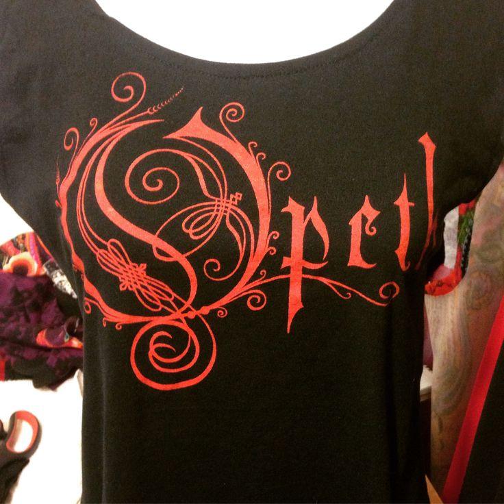 """""""Opeth"""" Diseño y Estampado en Serigrafía. BRUGGE Diseño y Producción."""