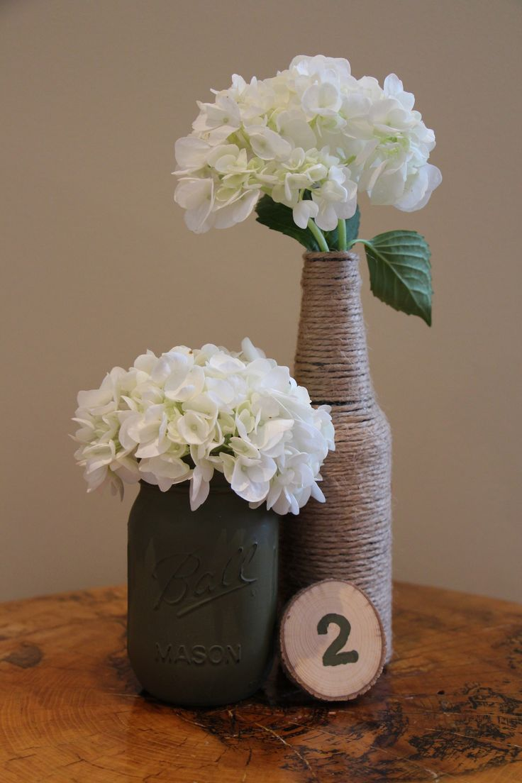 Rustic Twine Vase - Small! Get 10% off with coupon code: PINTEREST10 http://etsy.me/1UjpLXo