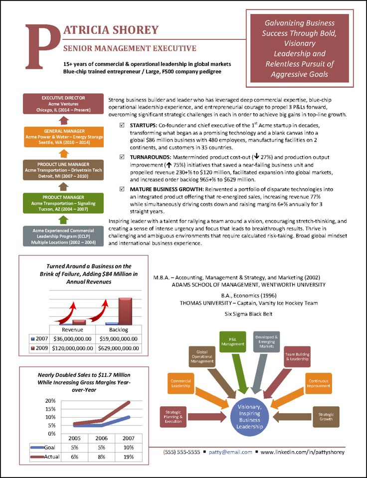 Graphic resume profile examples good resume examples