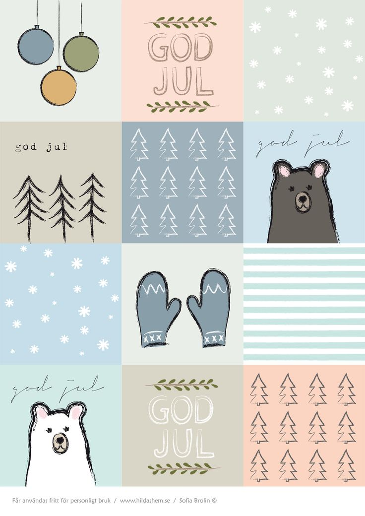 FREE Printable Christmas Gift Labels