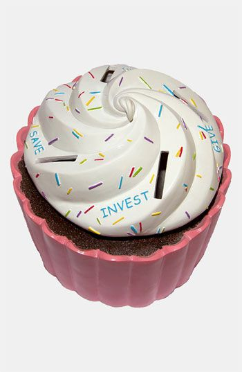 Money Scholar Cupcake Savings Bank   Nordstrom
