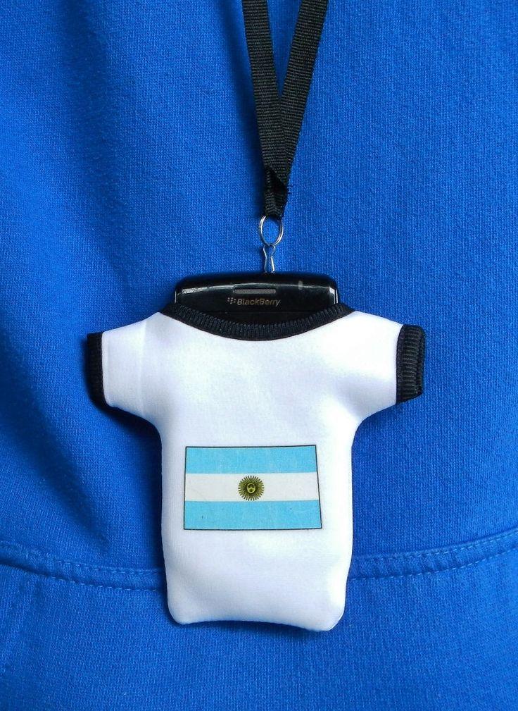 Argentina Argentinian Flag Smart Cell Phone Holder Case