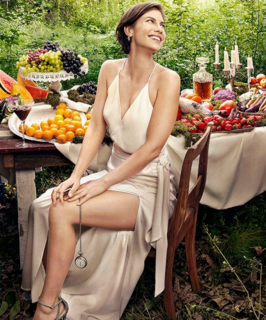 Lauren Cohan photographed by Art Streiber for Entertainment Weekly