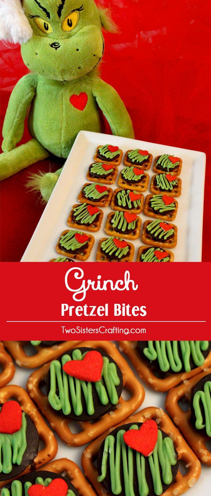 Grinch Pretzel Bites Are Delicious Of Sweet And Salty Goodness A Perfect Christmas Treat