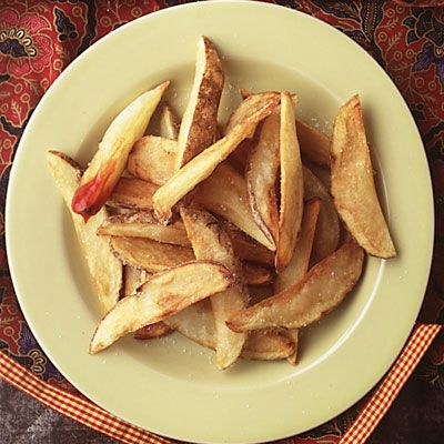 When you want french fries — no, scratch that — when you need french fries, look no further than these perfectly crisp wedges. Enough said.  Recipe: Crispy French Fries  - Delish.com