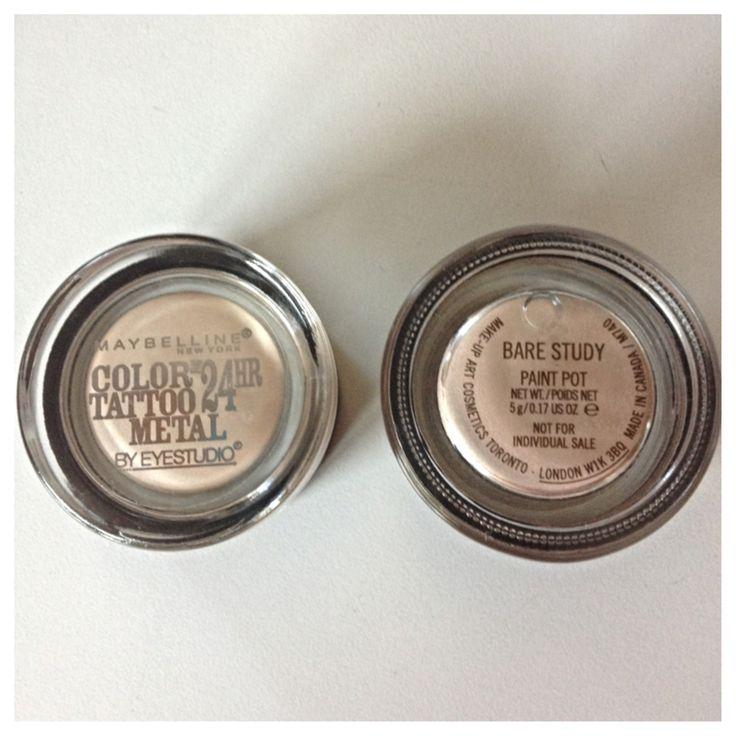 Lovely Dalliances: Drugstore Dupe for MAC Bare Study Paint Pot