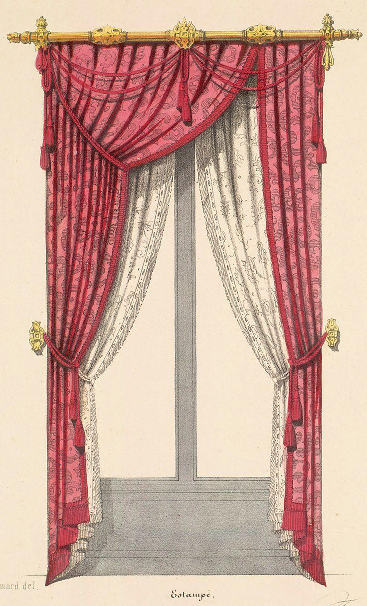Victorian velvet curtains - Http Www Sil Si Edu Digitalcollections Art Victorian Curtainssteampunk
