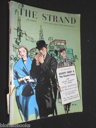 THE Strand Magazine Original Format 1949 Wyatt Earp Denis Compton Dick Barton | eBay