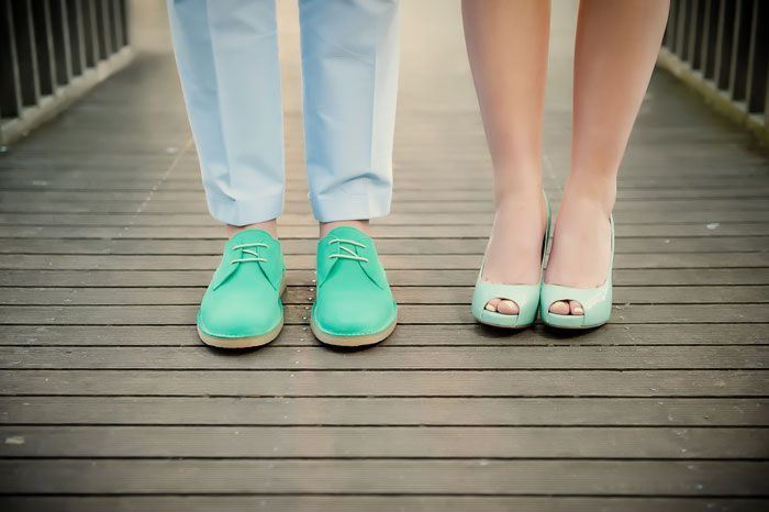 #Turquoise Wedding Shoes // Photography by The Weddings Birds.
