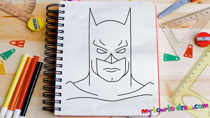 how to draw a superhero step by step for kids