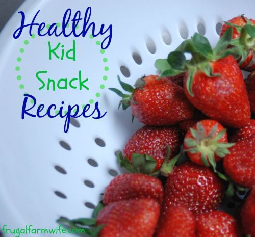 A round-up of 27 absolutely delicious, Healthy, and allergy-friendly Kid Snack Recipes. We love these gluten-free snacks, and they're so easy!