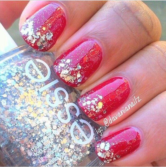 Sparkled Nails