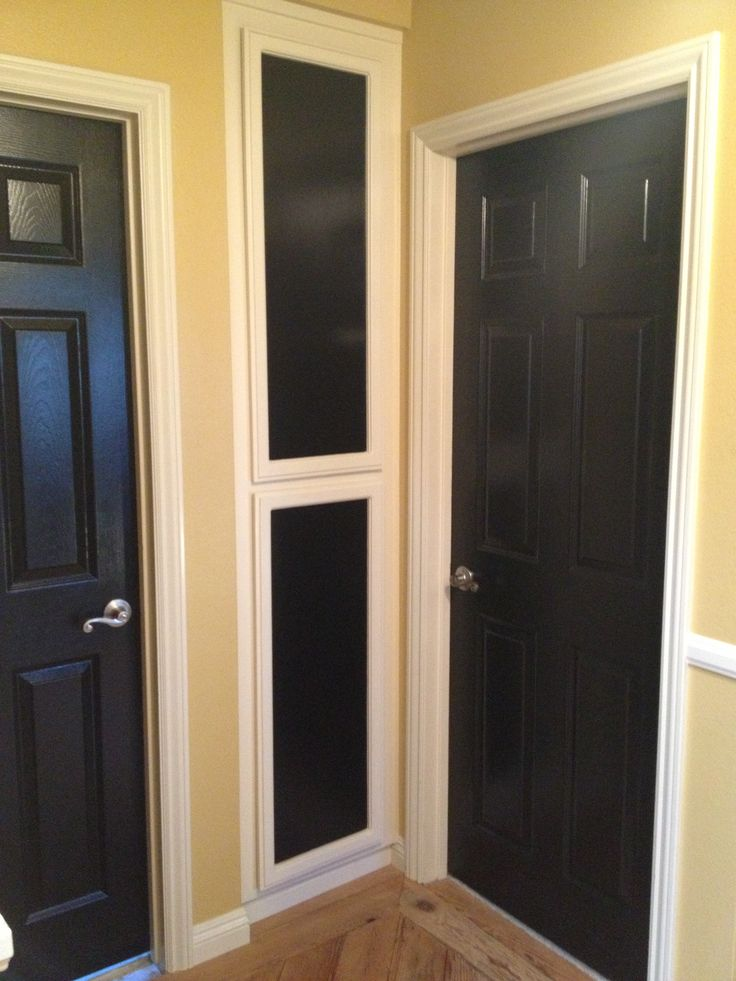 Black Interior Doors. Farmhouse Paint ColorsBlack ...
