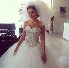 yüksek kaliteli seksi düğün havai fişeklere sevgilisi mahkeme tren vestido de noiva Princesa gelinlik 2015(China (Mainland))