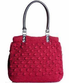 Saiba como fazer uma bolsa de crochê com alças de couro - Moda, Beleza, Estilo, Customizaçao e Receitas - Manequim - Editora Abril
