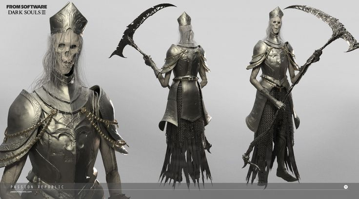 3D character and creature modeling for Dark Soul 3. ©Bandai Namco Entertainment Inc.