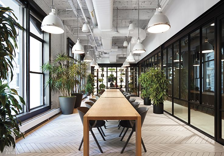 2542 best projects office spaces images on pinterest for Interior design companies in new york
