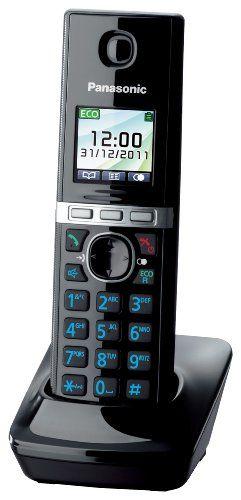Panasonic KX-TGA806EXB - Teléfono inalámbrico digital supletorio (sin base emisora) B004OJPKIA - http://www.comprartabletas.es/panasonic-kx-tga806exb-telefono-inalambrico-digital-supletorio-sin-base-emisora-b004ojpkia.html
