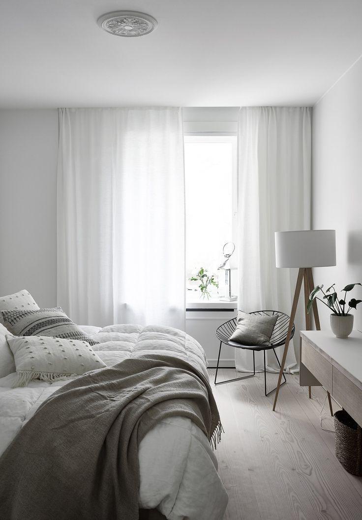A bright white Finnish Home - via Coco Lapine Design blog