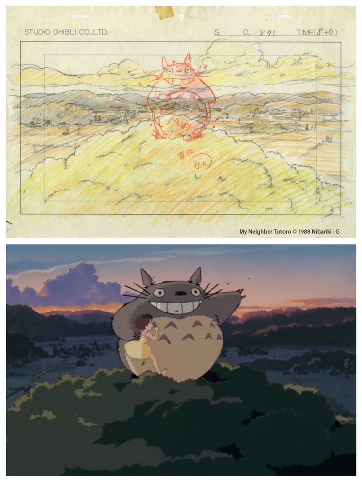 "From ""Totoro"" - Studio Ghibli Layout Designs: Understanding the Secrets of Takahata and Miyazaki Animation in Hong Kong Heritage Museum - 2014 Summer"