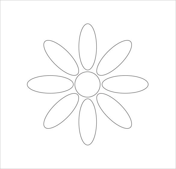 68 best Leaf \ Petal Outlines images on Pinterest Drawings, DIY - flower petal template