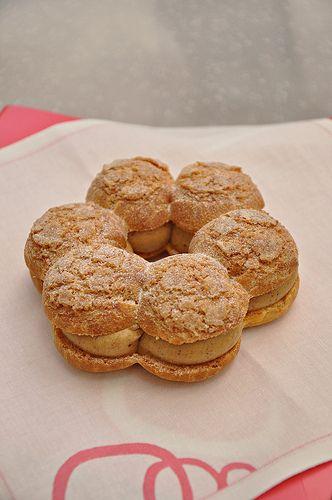 Paris Brest pastry from Patisserie des Reves