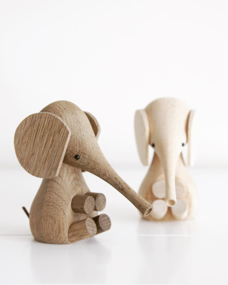 Our favourite little baby elephants by Lucie Kaas. Gorgeous nursery decor item - Scandikid