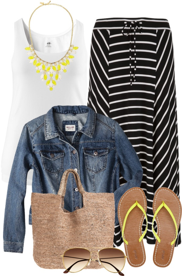 """Black, White, Yellow - Plus Size"" by alexawebb ❤ liked on Polyvore"