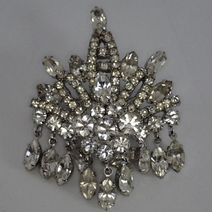 Maker: Juliana.   eBay!   Crystal rhinestone, Fashion ...