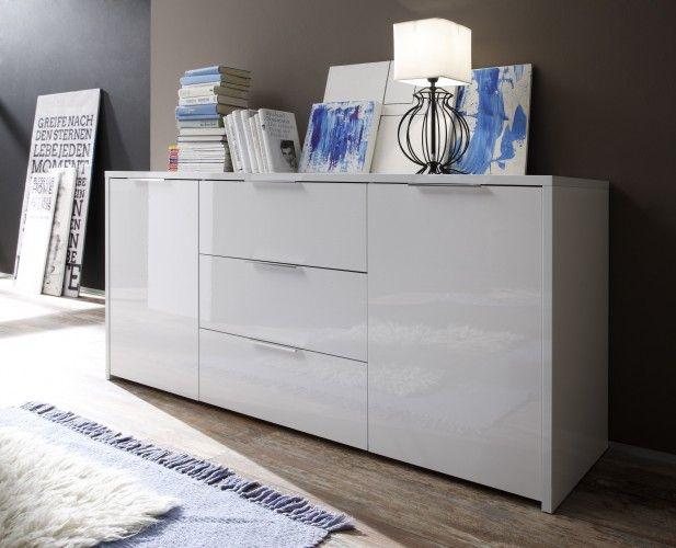 Sideboard weiß hochglanz glas  Die besten 25+ Sideboard weiss Ideen auf Pinterest | Ikea ...