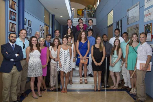 Business students serve as consultants for international companies