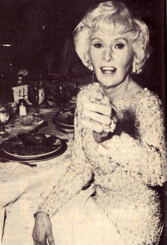 Image Barbara Stanwyck At Dining Room Table