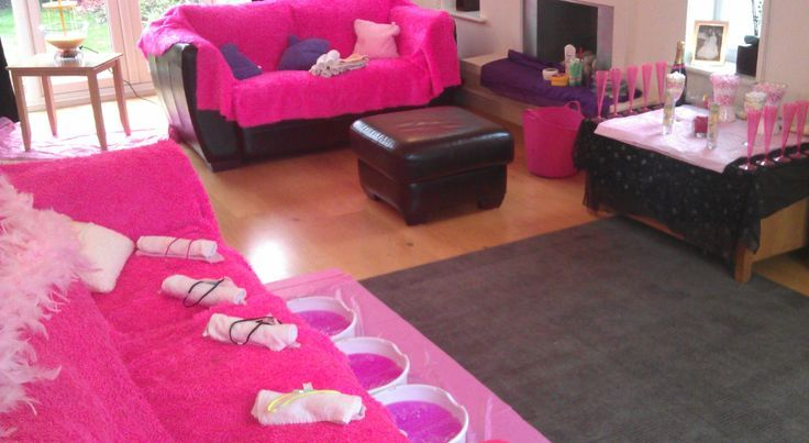 Spa Party Party Ideas For Girls And Pamper Party On Pinterest