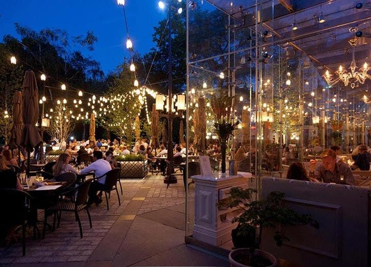 8 Restaurants With Stunning Views Of Central Park Tavern On The Green Central Park Nyc Nyc Restaurants