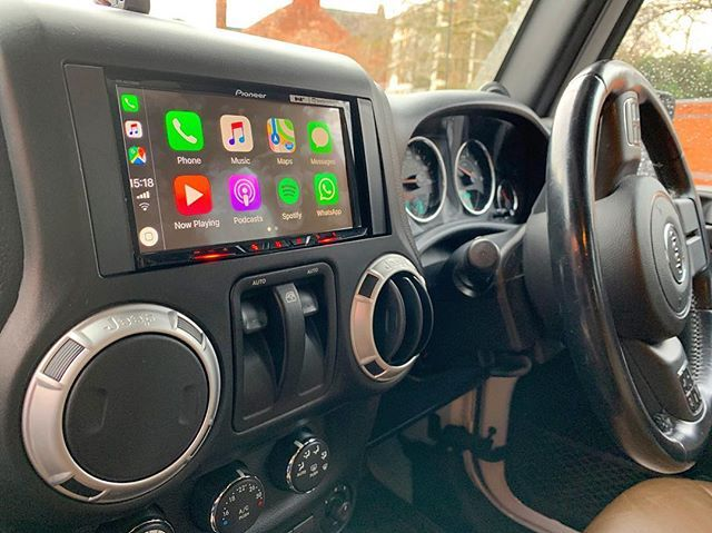 Jeep Wrangler 2012 Installed With Pioneer Sph Da230dab Our
