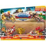 Activision - Skylander SuperChargers Racing Land Pack (Double Dare Trigger Happy/Gold Rusher/Moneybone Land Trophy), 87579