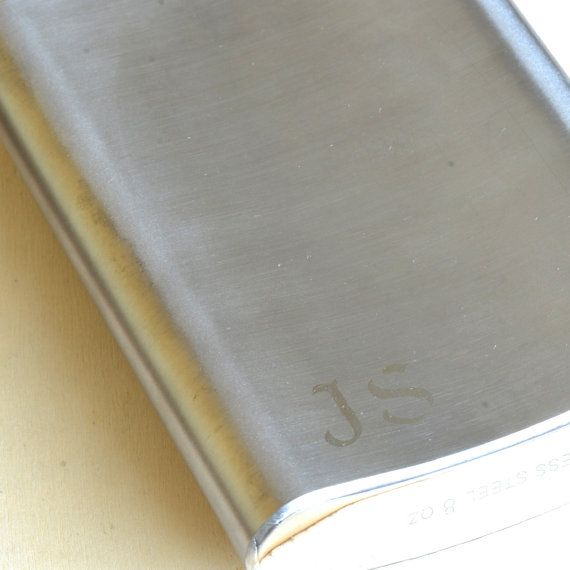 Personalized Hip Flask - Engraved Hip Flask - Gifts for Dad, Grand dad, Uncle, Grooms Men, Grooms, Sons