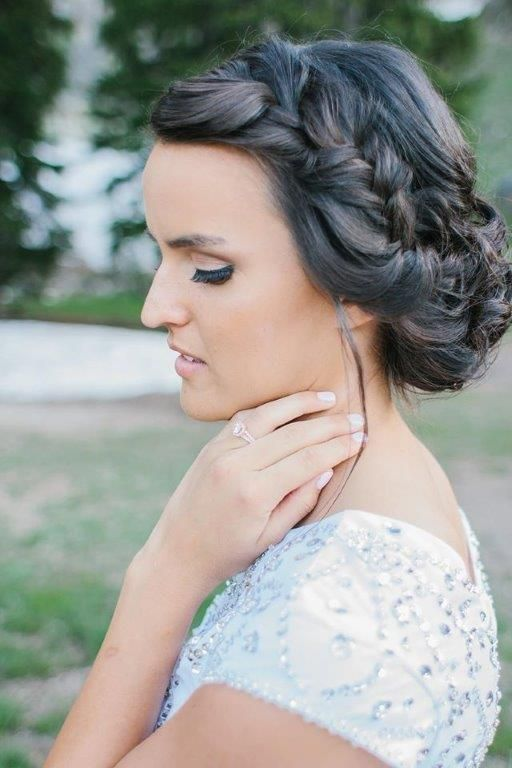 Love this look | Wedding day hair by Carrie Purser Makeup and Hair Artistry