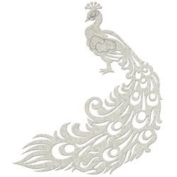 Image result for peacock chipboard scrapbook