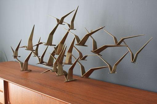 birds in flight: Midcentury Modern, Ideas, Art, Jeré Birds, Mid Century Furniture, Wall Sculpture, Flight Midcentury, Birds In Flight