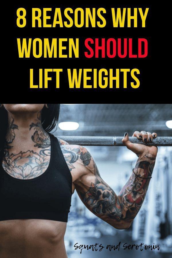 Gewichtheben Routinen für Frauen zur Gewichtsreduktion