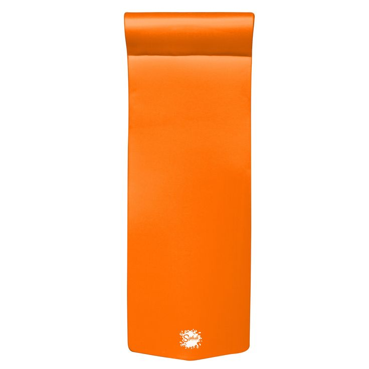 Texas Recreation Splash Foam Pool Float Orange