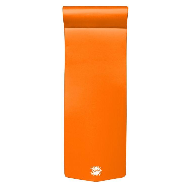 Texas Recreation Splash Foam Pool Float Orange