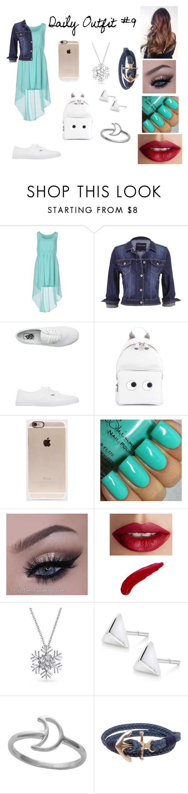 """""""Daily Outfit #9"""" by fall-out-flores ❤ liked on Polyvore featuring Duck Farm, maurices, Vans, Anya Hindmarch, Incase, TheBalm, Bling Jewelry, Humble Chic, women's clothing and women"""