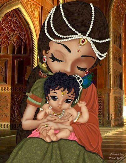 Cute Kanha Ji: Yashoda Maiya