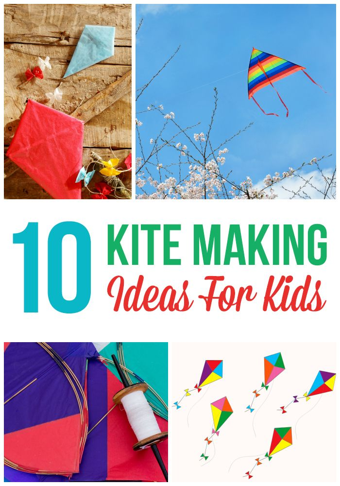 Are you down in the beach thinking how to make a kite for kids? Scroll down to peruse the list of some kite making ideas for your little kite-flying enthusiast here!