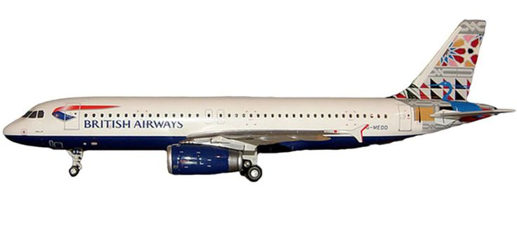 Jc Wings British Airways A320-231 517rb