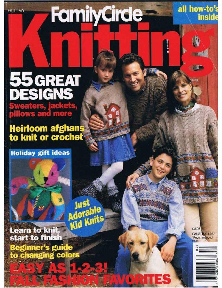 Family Circle Knitting 1996 Fall - 紫苏 - 紫苏的博客